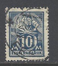Estonia Sc # 72 used (BC)