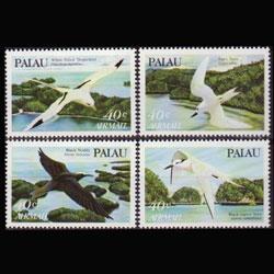 PALAU 1984 - Scott# C1-4 Birds-Terns Set of 4 NH