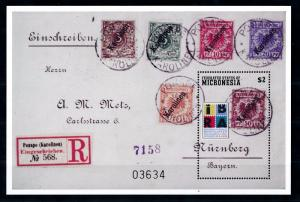 [56920] Micronesia 1999 Stamps on stamps MNH Sheet