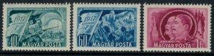 Hungary #979-81*  CV $4.00