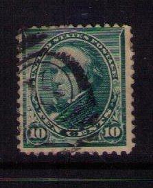 US Sc 226 Used Webster Dark Green F-VF (1890):