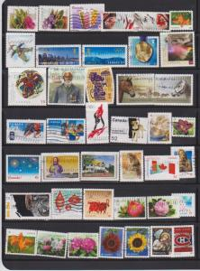 LOT OF DIFFERENT STAMPS OF CANADA USED(41) LOT#320