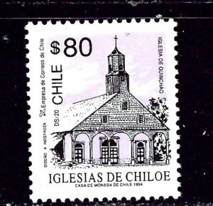 Chile 1058b MH 1993 issue inscribed 1994