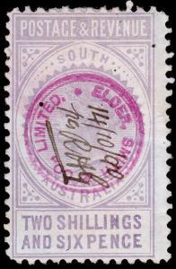 South Australia Scott 81b (1886) Used F-VF, CV $17.50 M