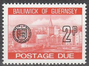 Guernsey #J20 MNH (S9401)