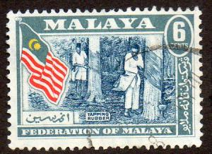 Malaya, Federation of  Scott  80  Used