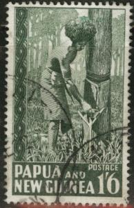 PNG Papua New Guinea Scott 132 used 1952 stamp