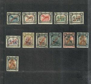 Nyassa Sc#51-62 M/H/VF, Cv. $28.55