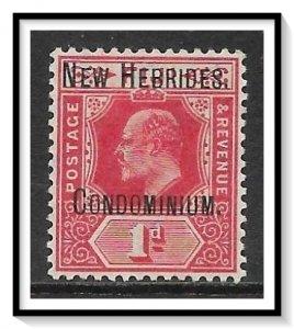 New Hebrides - British #11 King Edward VII MHR
