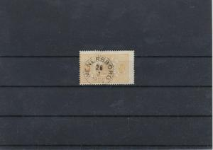 Sweden 24 Ore Yellow 1881 Used Official Stamp CAT£28 Ref: R7484