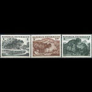 AUSTRIA 1962 - Scott# 685-7 Forests Set of 3 NH