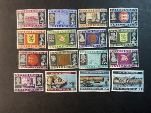 GUERNSEY # 8-23-MINT NEVER/HINGED--COMPLETE SET--1969-70