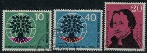 Germany #807-9  CV $3.70