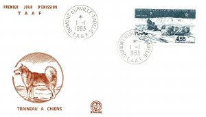 1983 French Southern & Antarctic Territory, Antarctic Cachet and/or Cancel  #103