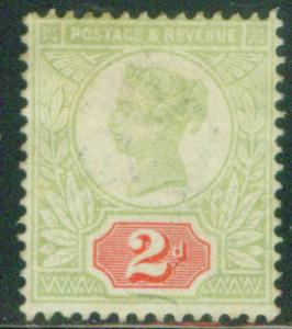 Great Britain Scott 113 1884 Queen Victoia CV$13.50