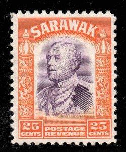 Sarawak 1934 KGV  25c SG 117 mint