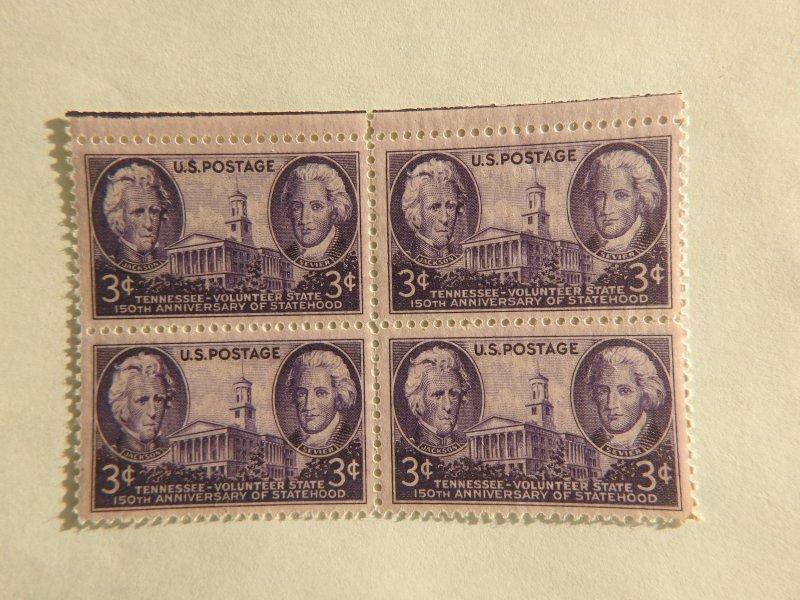 U. S. #941 Mint block  OG  NH