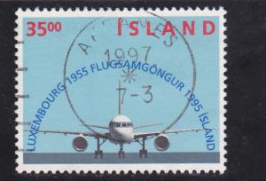 Iceland  Scott#  807  Used