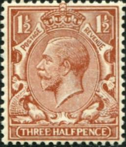 SG362 SPEC N18(2), 1½d pale red-brown, LH MINT. Cat £14.