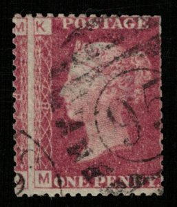 Queen Victoria, 1 penny, 1854-1855, Great Britain, Watermark (T-5624)