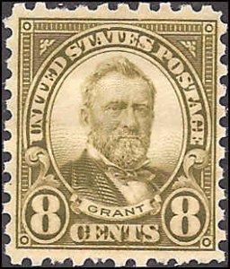 589 Mint,OG,NH... SCV $57.50