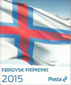 Faroe Islands MNH 2015 Year Set in Folder