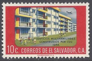 El Salvador #707 1960 Used
