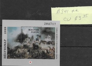 Hungary #B341 MNH - Sourvenir Sheet - CAT VALUE $3.75