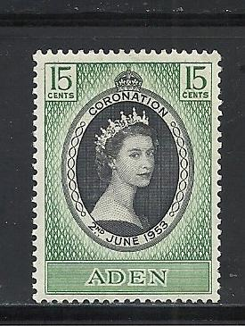 Aden #47 comp mint cv $1.25