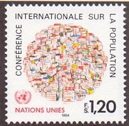 United Nations Geneva 1984 MNH world population conference