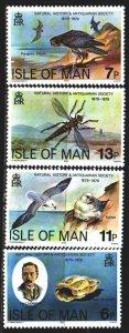 Isle Of Man. 1979. 138-41. Isle of Man, fauna, dragonfly. MNH.