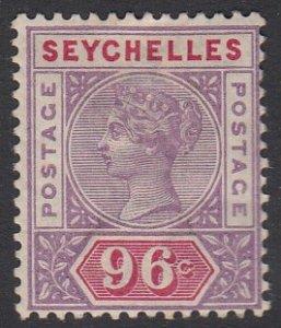 Seychelles 18 MVLH CV $72.50