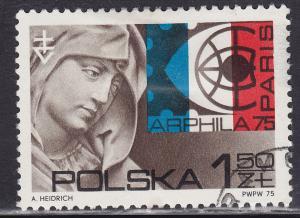 Poland 2087 USED 1975 ARPHILA '75 Paris 1.50zł