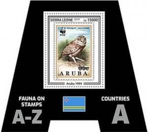 Sierra Leone - 2019 Stamps on Stamps - Souvenir Sheet - SRL190303b11