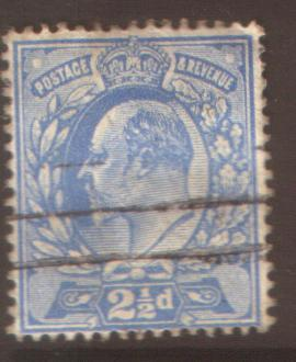 GB 2 1/2d #148 SG 282 perf 15x14 fine used