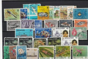 singapore collectable stamps ref r12463