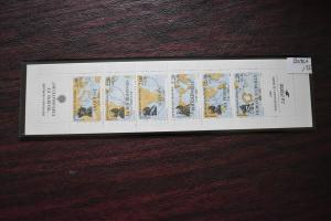 FRANCE  B598A  MNH   COMPLETE BOOKLET