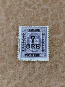 Denmark 190 F-VF, CV $15.50