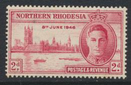 Northern Rhodesia  SG 47 SC# 47  MNH   see detail and scan