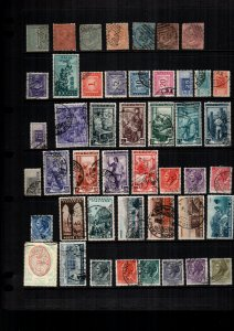 Italy  43  diff used and mint lot collection