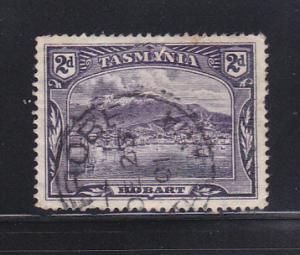Tasmania 88 U View Of Hobart (D)