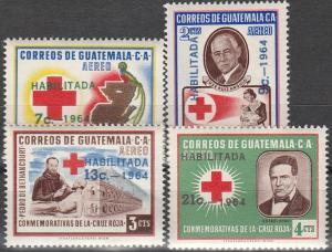 Guatemala #C287-90 MNH F-VF  (V313L)
