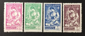Algeria 1943 #B39-42, MNH, CV $4