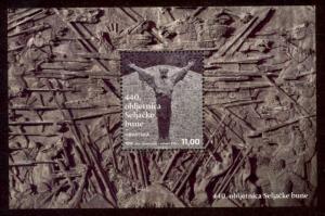 Croatia Sc# 888 MNH 440th Anniversary Peasant's Revolt (S/S)
