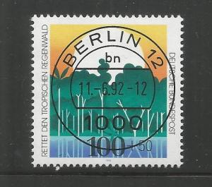 GERMANY, B733, USED, PRESERVATION OF TROPICAL RAIN FORESTS