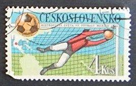 Sport,  Football, Olympian Games, Czechoslovakia, №1130-Т