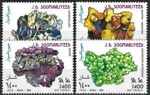 1995 Somalia Beautiful Minerals, complete set VF/MNH! LOOK!