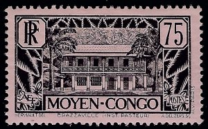 Middle Congo Sc #78 Mint OG VF hr SCV$12.50...Colonies are in demand!