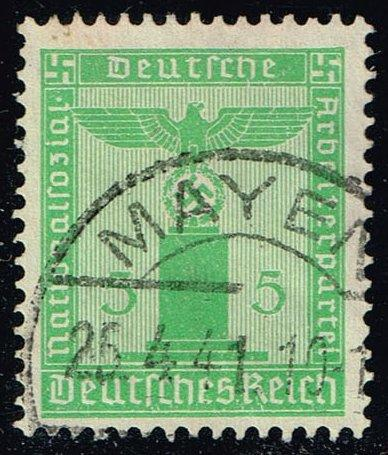 Germany #S4 Franchise Stamp; Used (1.50)