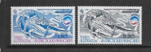 FRENCH SOUTHERN ANTARCTIC TERRITORIES #112-13 BIOMASS  MNH